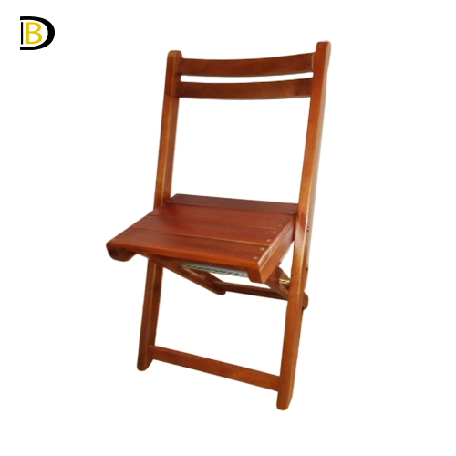 Cadeira Dobrável Teca